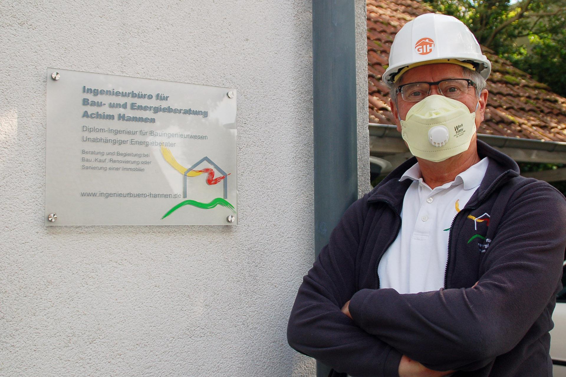 Für Sie da: Bau- und Energieberatung Achim Hannen